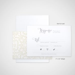lacey - wedding design by anika - stationery - invitations