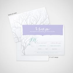winter wonderful - wedding design by anika - stationery - invitations