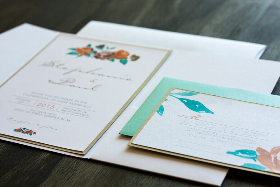 Stephanie Suite - wedding design by anika - custom invitations and stationery