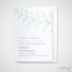 rustic retreat - wedding design by anika - stationery - invitations
