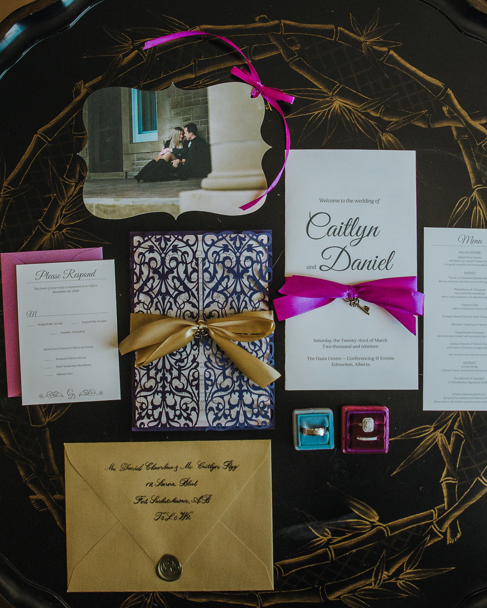 Luxury Stationery—Laser and Die cuts