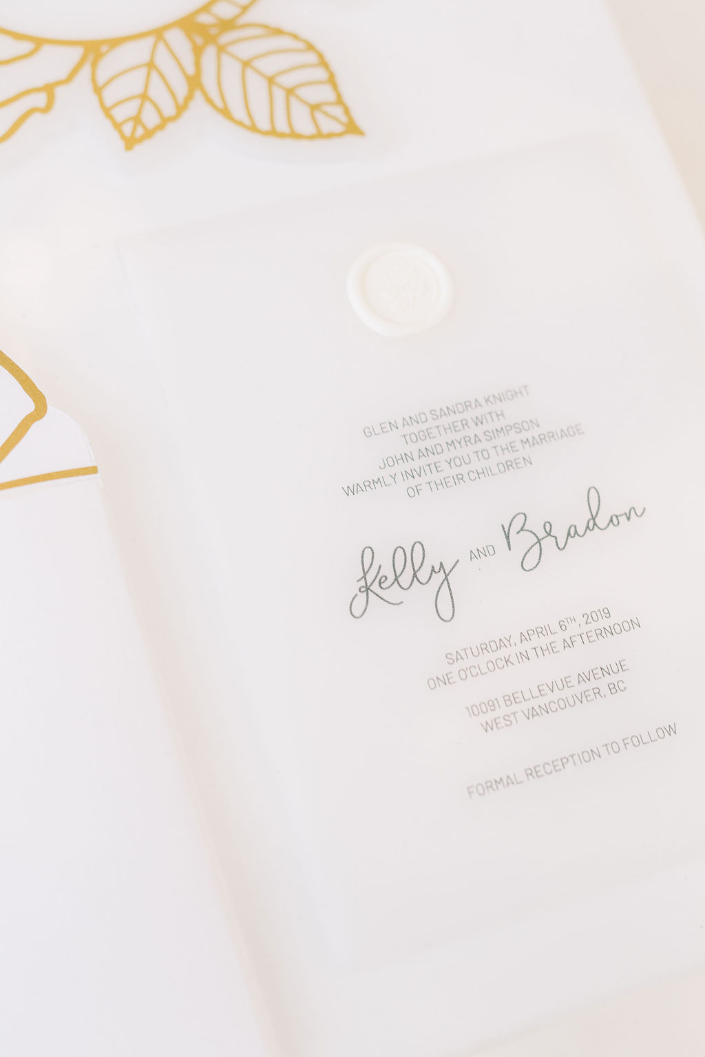 Luxury Stationery—Acrylic