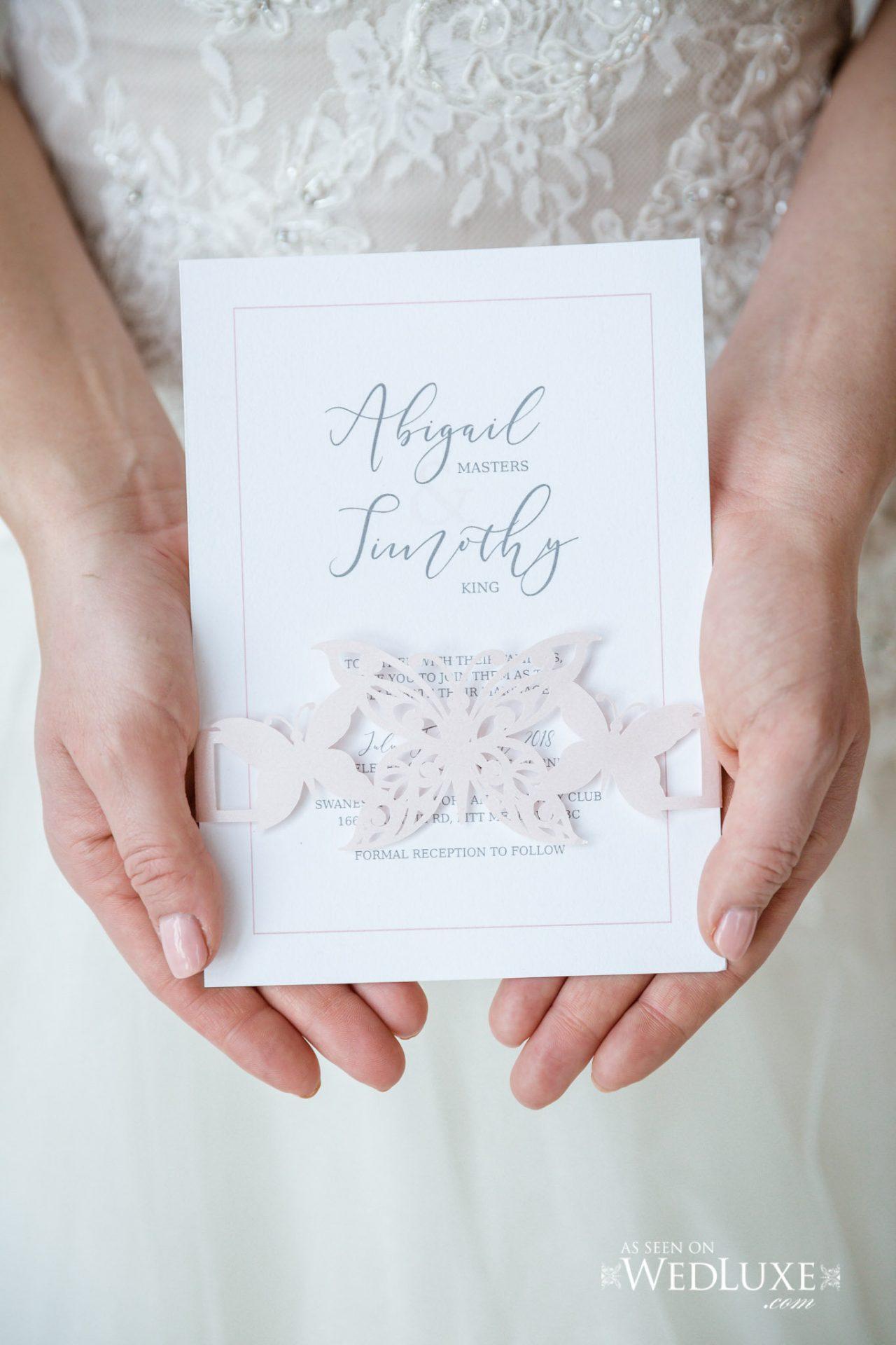 Etiquette—inside the envelope